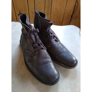 John Varvatos sz 10 brown chukka boots